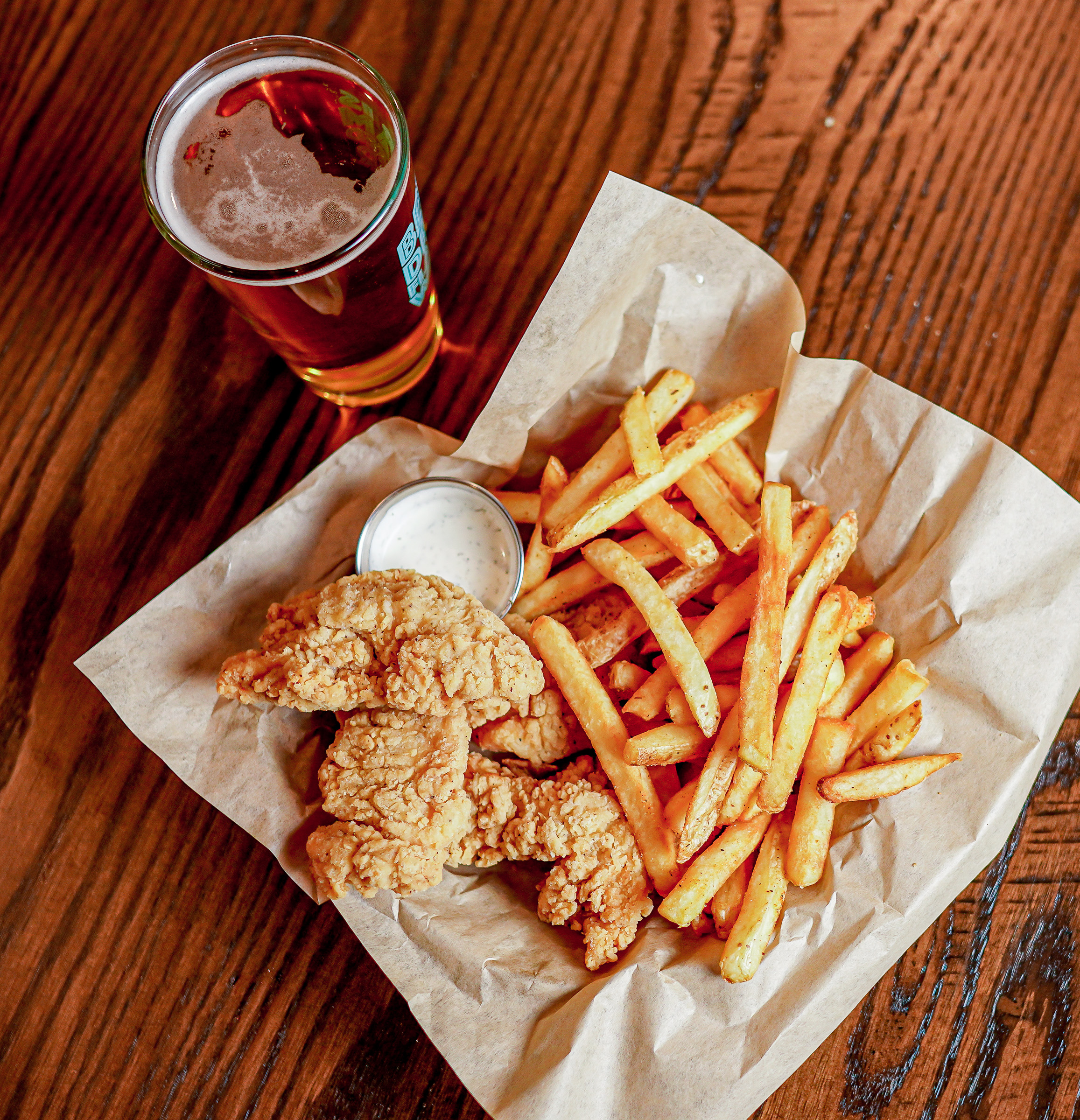 Chicken Tenders with Fries